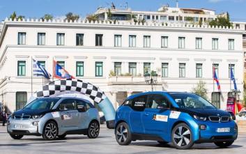 Οικολογικά μοντέλα διαγωνίστηκαν στο «Hi-Tech EKO Mobility Rally»