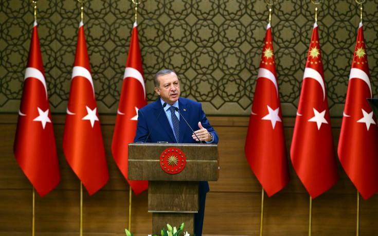 Ο Ερντογάν τορπιλίζει το Κυπριακό: Η Τουρκία θα είναι για πάντα εκεί