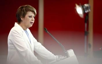 Γεροβασίλη: Μείζον εθνικό ζήτημα η αναδιοργάνωση της Πολιτικής Προστασίας
