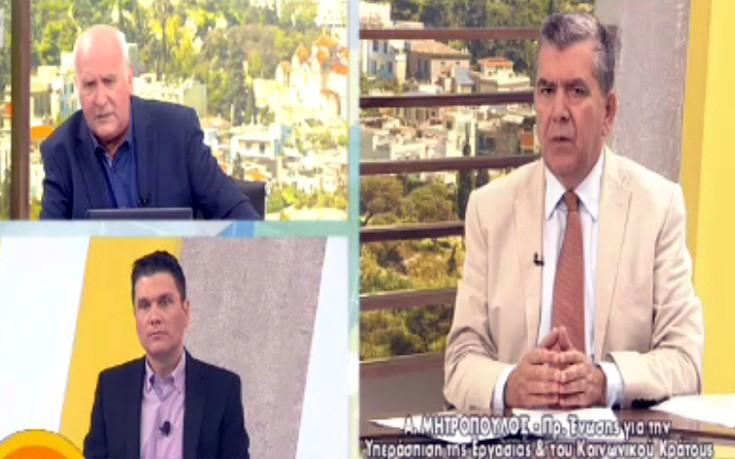 Μητρόπουλος: Με χτύπησαν και μου είπαν να μην ξαναβγώ στον Παπαδάκη