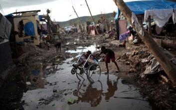 Τεράστιες ζημιές από το πέρασμα του κυκλώνα Μάθιου από την Αϊτή