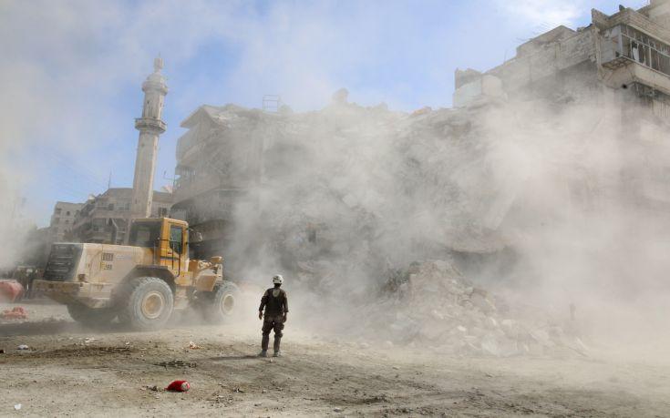 Η Μόσχα κατηγορεί τους αντάρτες για χρήση χημικών στο Χαλέπι