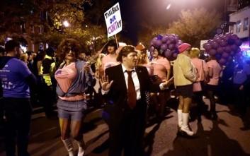 Τραμπ και Κλίντον είχαν την τιμητική τους σε παρέλαση drag queen
