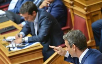 Μητσοτάκης σε Τσίπρα: Είστε ο πιο ψεύτης, ο πιο ανίκανος και ο πιο αποτυχημένος πρωθυπουργός