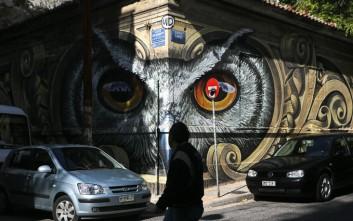 Ποιος είναι ο δημιουργός του εντυπωσιακού γκράφιτι στο Μεταξουργείο
