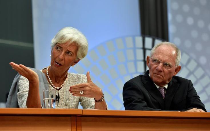 Η διαμάχη Σόιμπλε-Λαγκάρντ για το ελληνικό χρέος