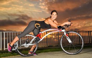 Το ποδήλατο που το οδηγείς ξαπλωμένος