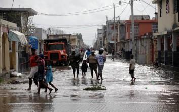 Φονικό το πέρασμα του τυφώνα Μάθιου στην Καραϊβική