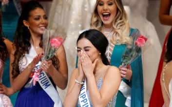 Η νηπιαγωγός από τις Φιλιππίνες που στέφθηκε Miss International