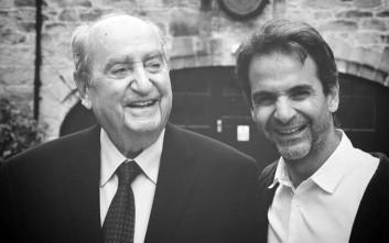 Οι ευχές του Κυριάκου Μητσοτάκη στον πατέρα του για τα γενέθλια του