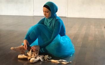 Η πρώτη επαγγελματίας μπαλαρίνα με χιτζάμπ παγκοσμίως