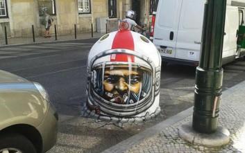 Τρισδιάστατα γκράφιτι που σε καθηλώνουν