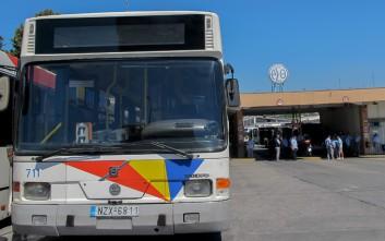 Λεωφορείο του ΟΑΣΘ εκτελούσε δρομολόγιο με την πόρτα ανοιχτή