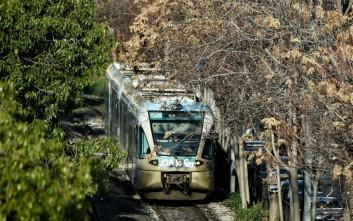Αναστέλλονται λόγω κατολίσθησης δρομολόγια του τρένου