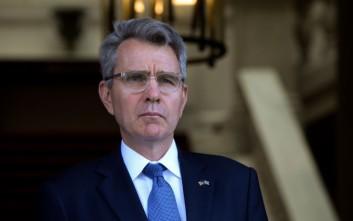 Ο πρέσβης των ΗΠΑ στην Αθήνα πάει στην Τουρκία εσπευσμένα