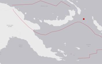 Σεισμός 5,8 Ρίχτερ στην Παπούα Νέα Γουινέα