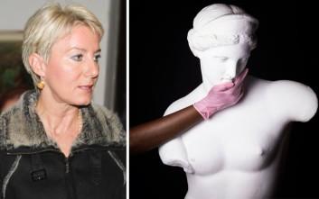 Η Νατάσα Παζαΐτη σε διαγωνισμό φωτογραφίας κατά του καρκίνου του μαστού