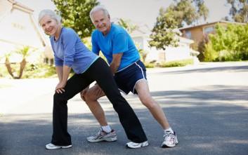 Οι ηλικιωμένοι που είναι σωματικά δραστήριοι έχουν πιο νεανικό εγκέφαλο