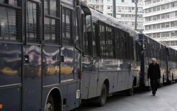 Φεύγουν οι κλούβες των ΜΑΤ από το κέντρο και έρχονται λεωφορεία καλύτερης αισθητικής