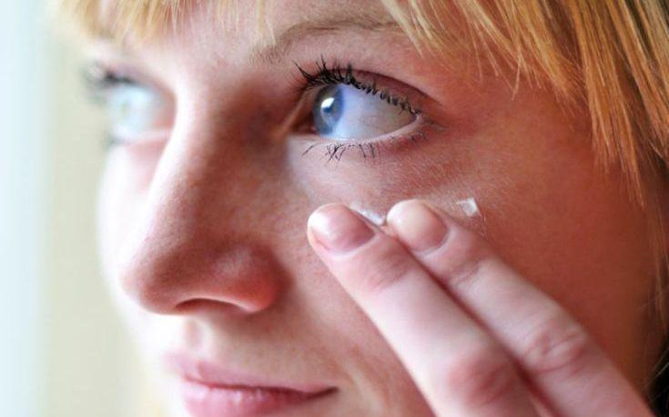 Η σωστή εφαρμογή της κρέμας ματιών