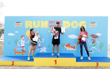 Με απόλυτη επιτυχία ολοκληρώθηκε το 3ο «Run with your Dog» από τα Friskies