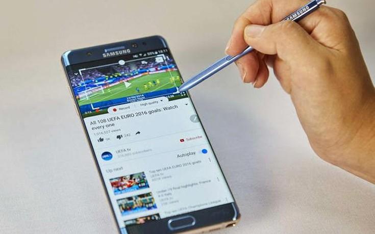 Κινητό Samsung Galaxy Note 7 πήρε φωτιά σε αεροπλάνο