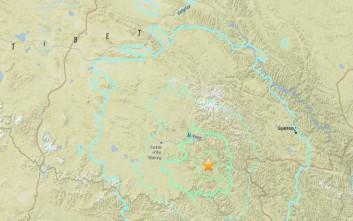 Σεισμική δόνηση 6,2 Ρίχτερ στο Θιβέτ