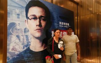 Πρεμιέρα για τη νέα ταινία «Σνόουντεν» στο Χονγκ Κονγκ