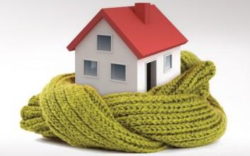 Πέντε συμβουλές για να διατηρείτε τη ζέστη στο σπίτι