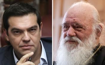 Τετ α τετ Τσίπρα και Ιερώνυμου για το ζήτημα της ονομασίας της ΠΓΔΜ