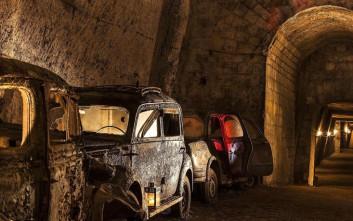 Η ανακάλυψη ενός αρχαίου υπόγειου κόσμου