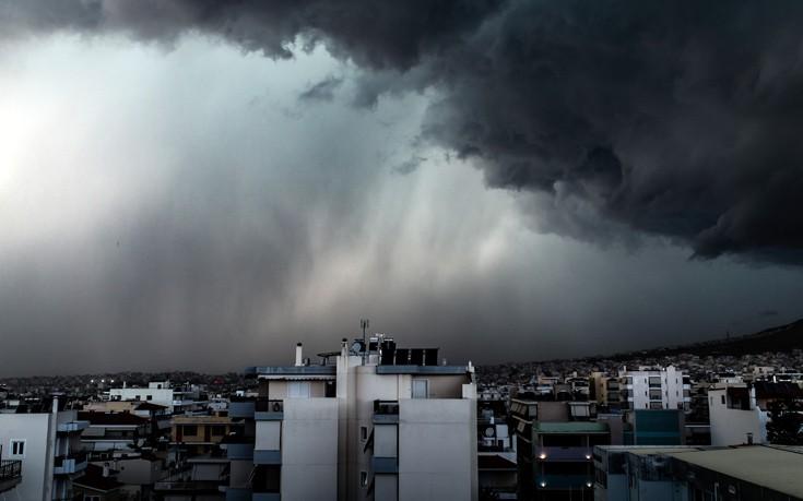 Πού θα χτυπήσουν καταιγίδες και χαλάζι σήμερα