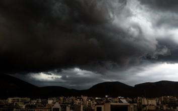 Έκτακτο δελτίο επιδείνωσης καιρού με ισχυρές καταιγίδες, χαλάζι και ανέμους