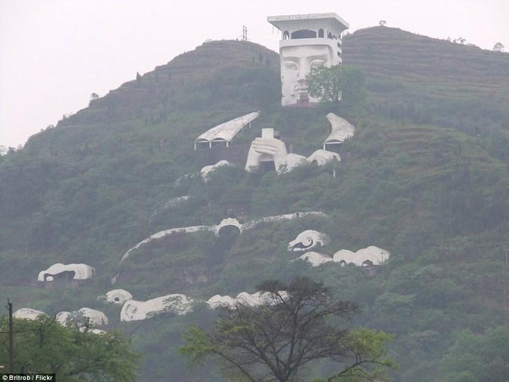 Η πόλη των φαντασμάτων Fengdu, Κίνα