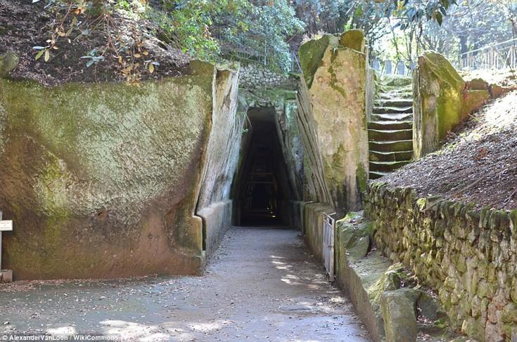 Η σπηλιά της Σίβυλλας, Νάπολη, Ιταλία