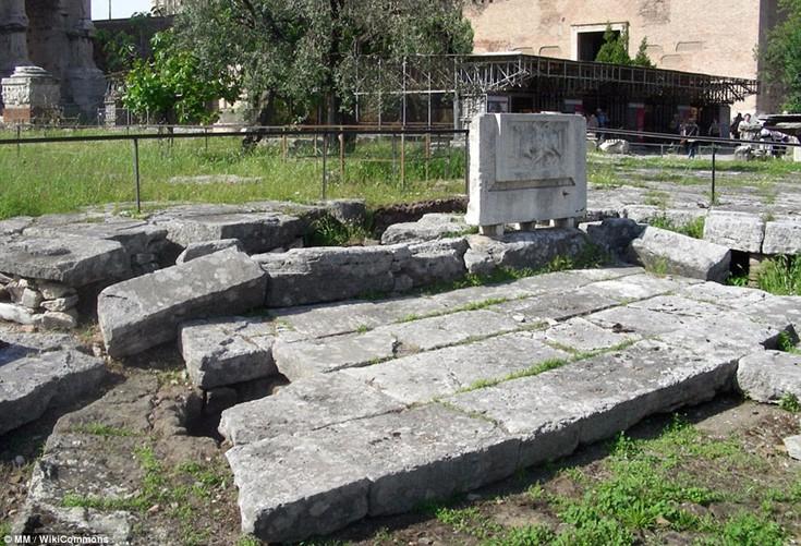 Lacus Curtius, Ρώμη, Ιταλία