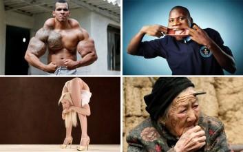 Απίστευτοι άνθρωποι απ' όλο τον κόσμο