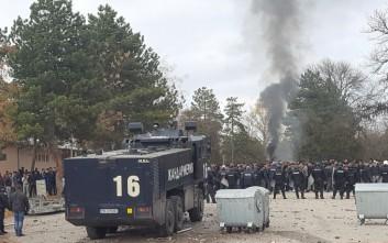 Σύγκρουση αστυνομικών και μεταναστών στη Βουλγαρία
