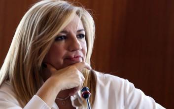 Γεννηματά: Το ηθικό πλεονέκτημα του ΣΥΡΙΖΑ είναι σλόγκαν για αφελείς