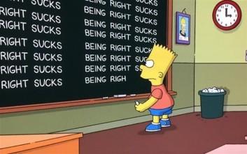 Οι Simpsons «σιχαίνονται που είχαν δίκιο» για τον Τραμπ