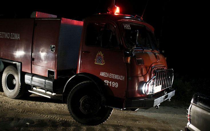 Κινητοποίηση για την πυρκαγιά στα λατομεία Μαρκοπούλου