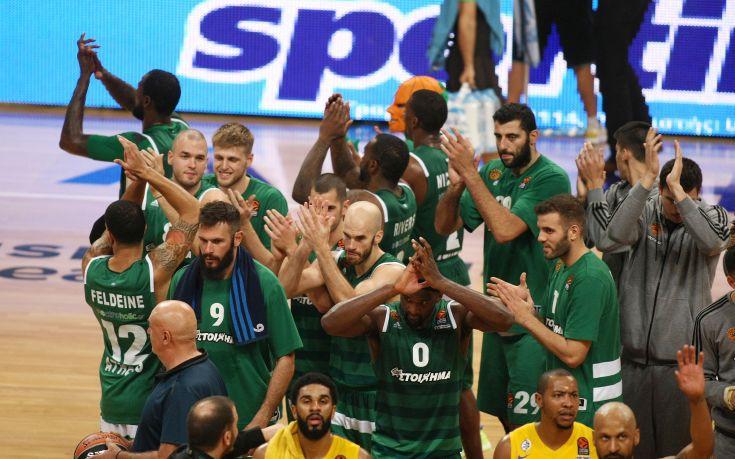 Μεγάλη νίκη για Παναθηναϊκό, 83-75, τη Μακάμπι