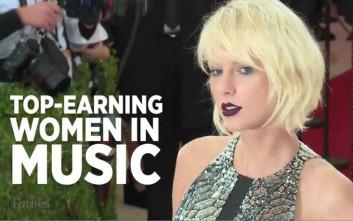 Adele, Madonna και Rihanna βλέπουν την πλάτη της Τaylor Swift