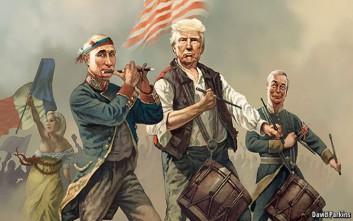 Το εξώφυλλο του Economist με τον Τραμπ που προκαλεί αίσθηση