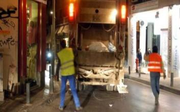 Το πόδι εργαζόμενου πιάστηκε στον μύλο απορριμματοφόρου στη Λαμία