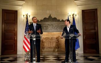 Αυστριακά ΜΜΕ: Ο Ομπάμα τόνισε τους στενούς δεσμούς ΗΠΑ-Ελλάδας-ΕΕ