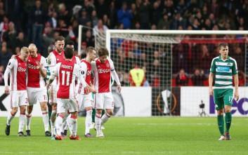 Νέα ήττα με κακή εμφάνιση για Παναθηναϊκό, 2-0, στο Άμστερνταμ