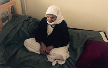 Εγκλωβισμένη στην Ελλάδα πρόφυγας 116 ετών