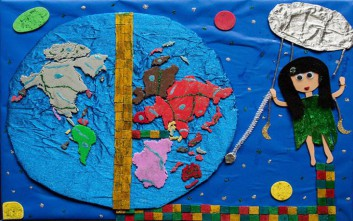 Βραβεύτηκε χάρτης αφής που έφτιαξαν μαθήτριες με προβλήματα όρασης
