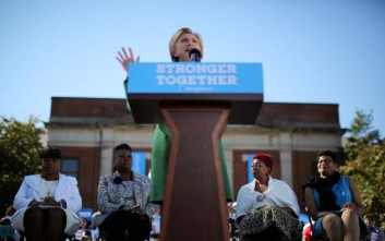 Κρίσιμη για την Κλίντον η ψήφος των αφροαμερικάνων στη Β. Καρολίνα
